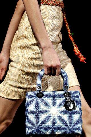 Сумки Lady Dior, весна-лето 2011